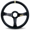 Sparco Racing Steering Wheel - R345 - 350mm - Dish 63mm - Black Suede