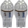 3A Racing LED Blade Globe 5200 Series (Pair) - T-10 6 LED 2.1 x 9.5 Base (White)