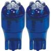 3A Racing LED Blade Globe 5200 Series (Pair) - T-10 6 LED 2.1 x 9.5 Base (Blue)