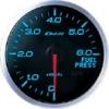Defi-Link BF Blue 60mm Fuel Pressure Gauge