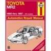 Haynes Manual - 1985-1987 Toyota MR2
