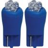 3A Racing LED Blade Globe 5200 Series (Pair) - T-10 4 LED 2.1 x 9.5 Base  (Blue)
