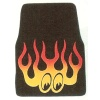 MOON Flamed Carpeted Floor Mats