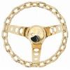 Grant Classic Model Gold Steering Wheel -  10