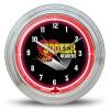 Holley Group Neon Wall Clock - Hooker Headers