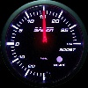 Saber 60mm Electronic Gauge Series 2 - Boost (PSI) with sender